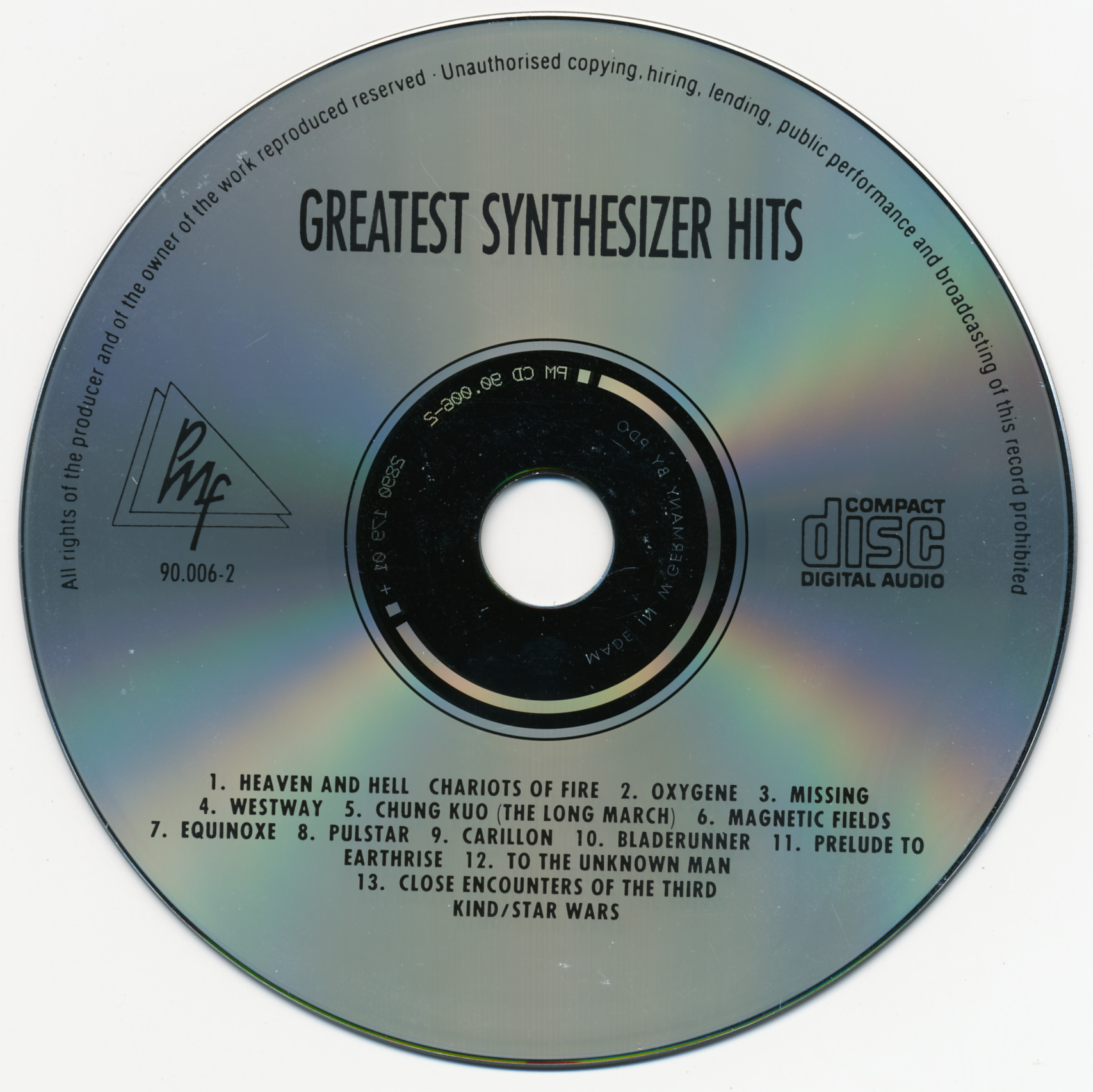 Greatest Synthesizer Hits (1990)