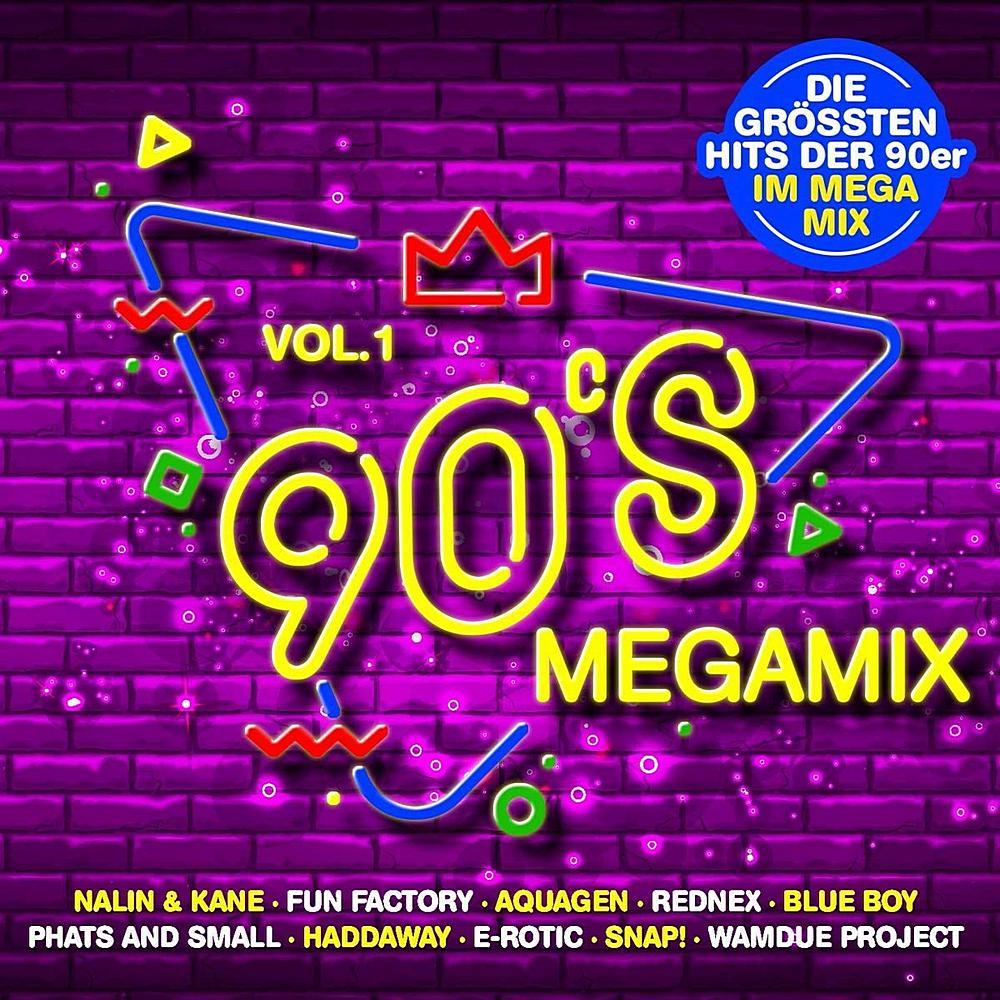 90s Megamix Vol.1 (2020) CD2