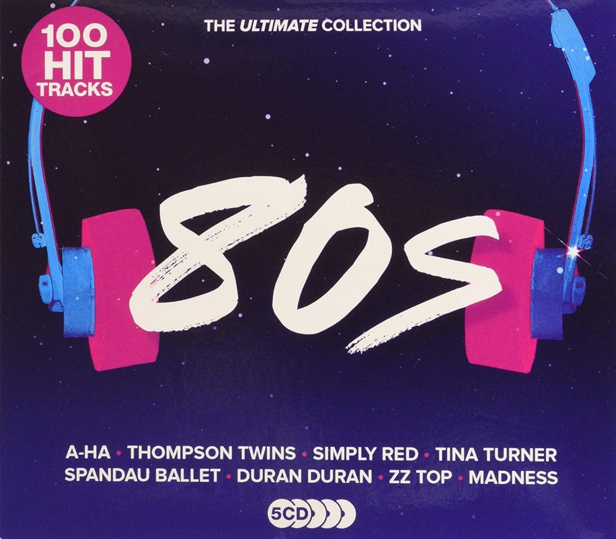 100 Hit Tracks The Ultimate Collection 80s (2020) CD 5